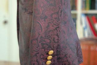 コレクションビエレッシー 紫×ペーズリー
