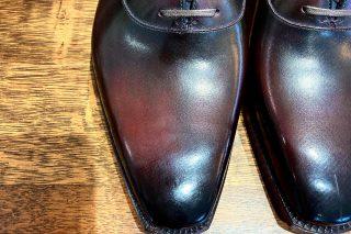 靴 ボルドー フルハンド