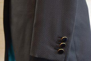 ドーメル ブラック×織柄3